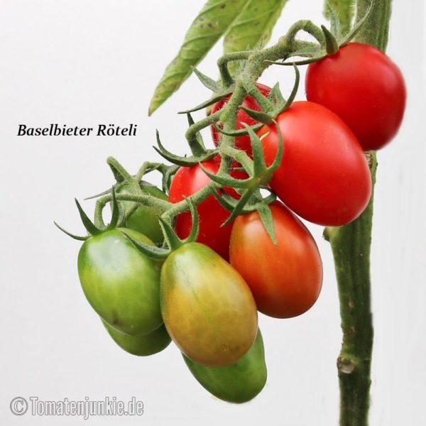 Tomatensorte Baselbieter Röteli