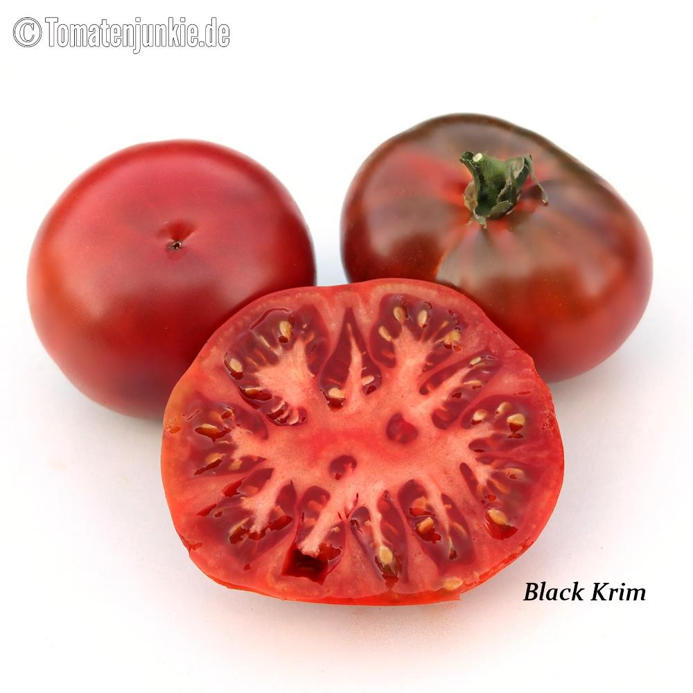 Tomatensorte Black Krim