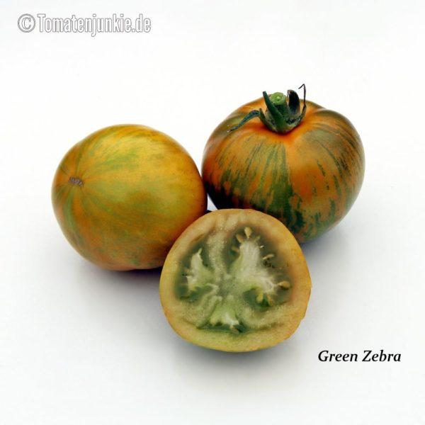 Tomatensorte Green Zebra